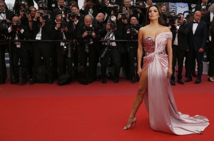 Eva Longoria, sur le tapis rouge, aux antipodes de la «desperate housewive»