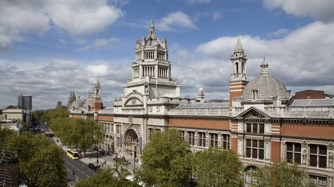 Le Victoria and Albert Museum.