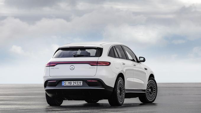 En termes de gabarit et de prix, la Mercedes EQC est plus proche d'une Jaguar I-Pace que d'une Audi e-Tron.