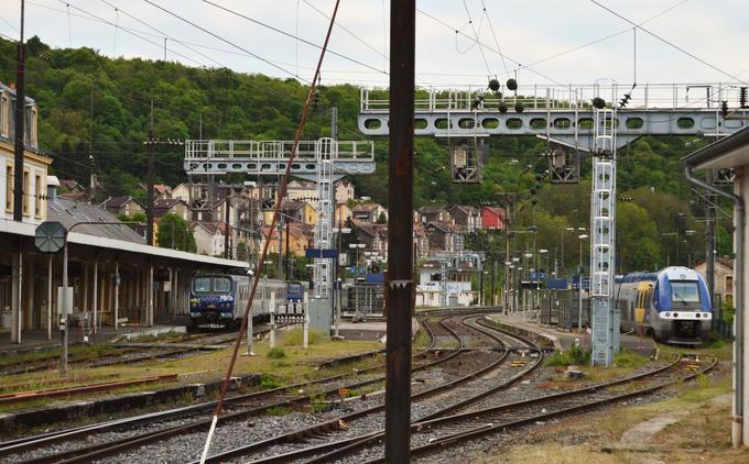 De nombreux transfrontaliers prennent le train tous les matins pour aller au Luxembourg.