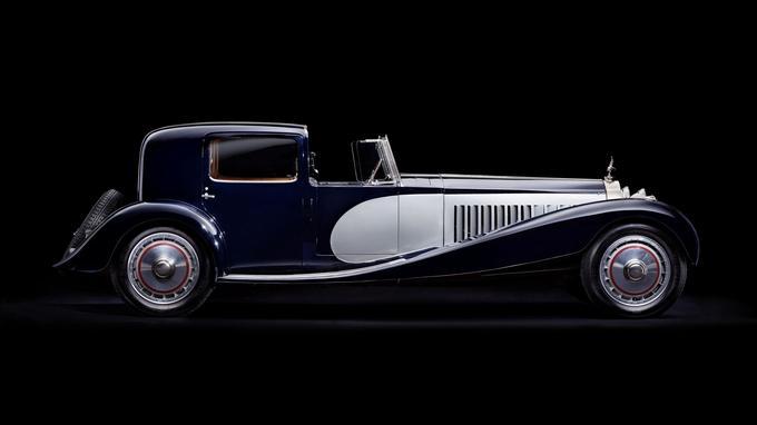 La Bugatti Royale «Coupé de ville Binder».