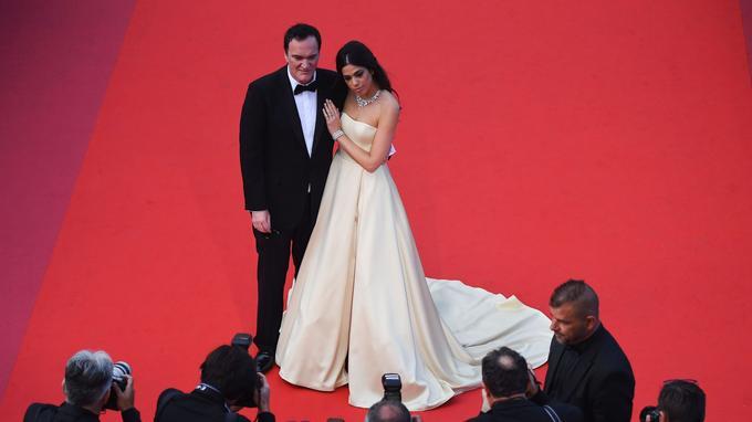 Favori de beaucoup de festivaliers, Quentin Tarantino n'a pas eu les honneurs du jury.