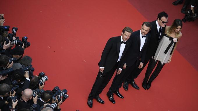Les stars du film de Quentin Tarantino, «Once Upon A Time... In Hollywood», ont remporté un grand succès auprès des photographes et des festivaliers.