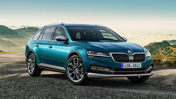 La Skoda Superb Scout.