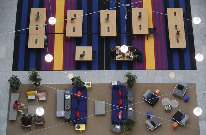 L'ancienne ministre des Sports, Laura Flessel, a aussi posé ses valises dans ce complexe de neuf étages.