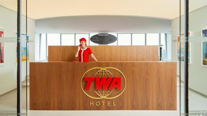 Le TWA Hôtel, un mythe des années 1960 qui occupe une place particulière dans l'histoire américaine.