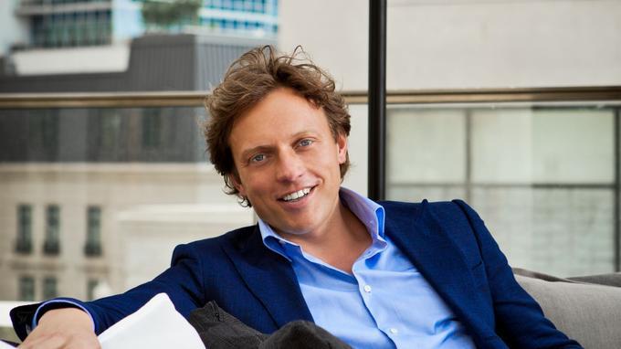 Fokke de Jong, fondateur et PDG de Suitsupply.