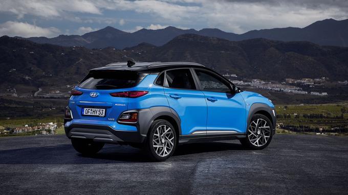Le Kona Hybrid emprunte la technologie ainsi que le moteur de la Hyundai Ioniq.