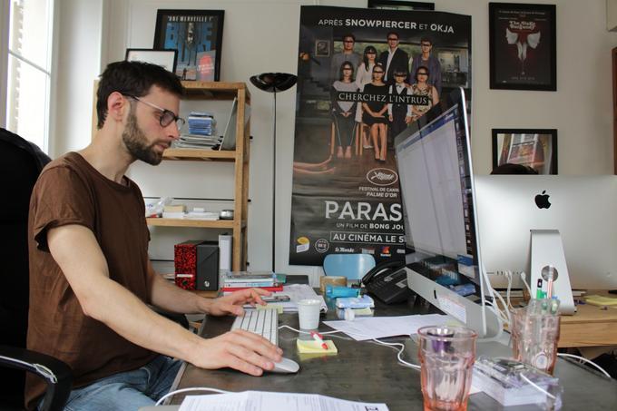 """«Il y a un gros consensus autour de """"Parasite"""". Le film coche toutes les cases. Il peut réunir la presse, les spectateurs et les exploitants», confie Kern Joly, directeur marketing de The Jokers."""