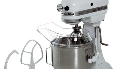 Kitchenaid  PRO K5 Blanc - Robot pâtissier -  <i>Source: Amazon</i>