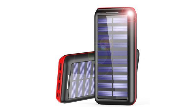 Batterie externe solaire: AKEEM