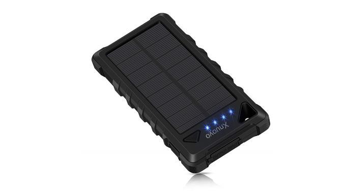 Batterie externe solaire: Xnuoyo
