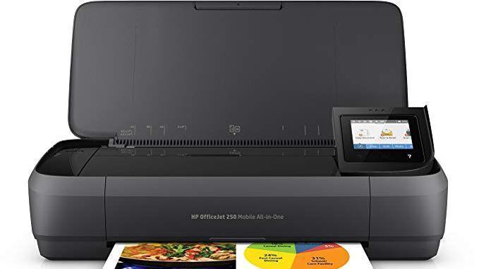 HP Officejet Mobile 250 - Imprimante portable multifonction -  <i>Source: Amazon</i>