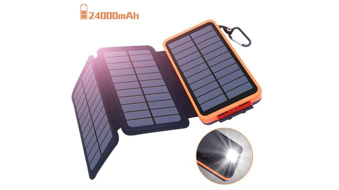 Batterie externe solaire: Oxsaytee