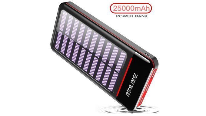 Batterie externe solaire: RLERON