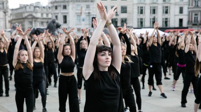 Avant le Parvis de l'Hôtel de Ville le 9 septembre dernier, le spectacle Kadamati avait notamment investi Trafalgar Square à Londres en 2016. - Crédits photo: Kois Miah