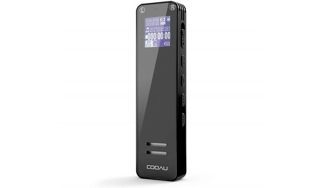 Dictaphone sans fil: Cooau 8 Go