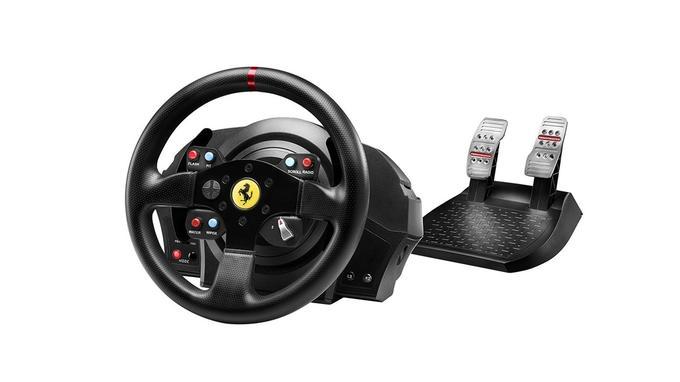 Volant de cours gaming: Thrustmaster T300 Ferrari GTE