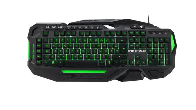 Clavier gamer: Spirit of Gamer Elite-K20