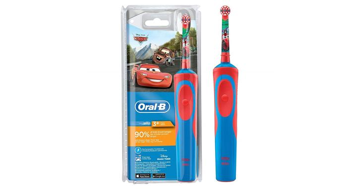 Brosse à dents pour bébé: Braun Oral-B Stages Power Cars