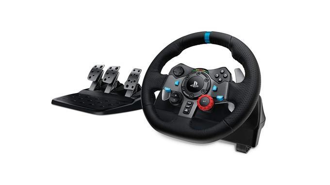Volant de course: Logitech Driving Force G29