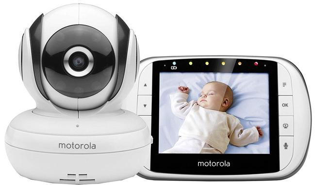 Babyphone vidéo Motorola Baby MBP 365C