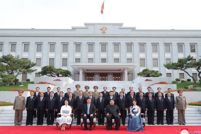 Xi Jinping est le premier président chinois à se rendre en Corée du Nord depuis Hu Jintao en 2005