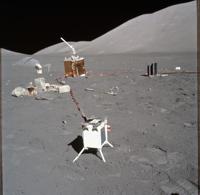 Les expériences menées par les astronautes lors de la dernière mission Apollo, la 17.