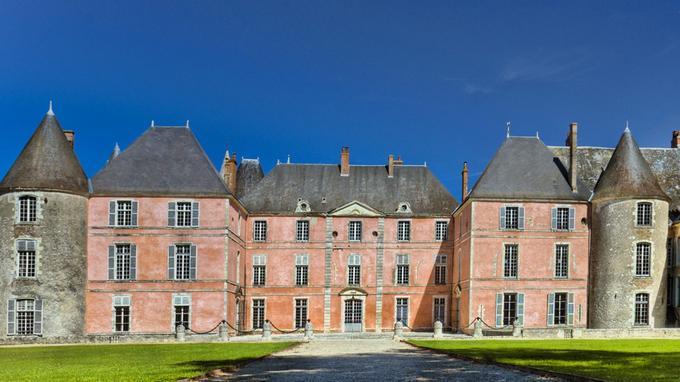 Le château de Meung-sur-Loire, dans le Loiret.