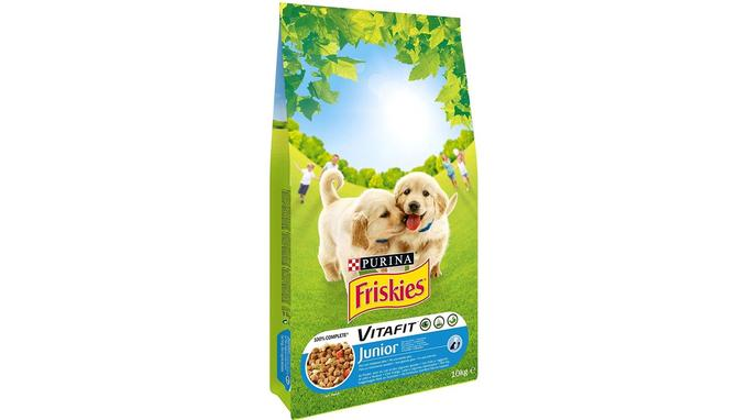 Croquettes chiot: Friskies Vitafit Junior