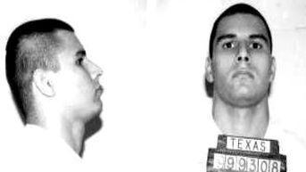Cliché pris lors de son arrestation, le 13 septembre 1998.