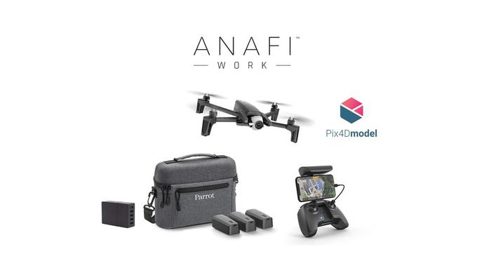Drone Parrot: Anafi Work