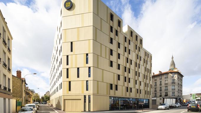Construit en bois, le Jo&Joe de Gentilly est le premier «bâtiment bas carbone» du groupe Accor.