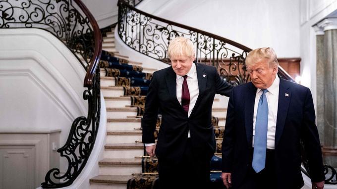 Boris Johnson et Donald Trump officialisent à Biarritz leur première rencontre depuis l'arrivée au pouvoir du premier ministre britannique le dimanche 25 août.