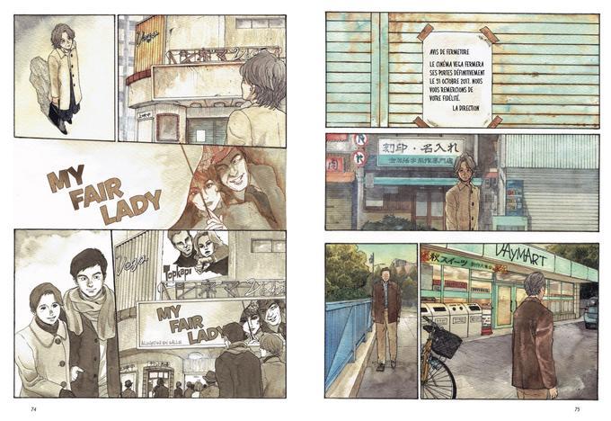 Kotoko et Ippei parcourent la ville et éprouvent le même décalage dans cette société où tout va de plus en plus vite...
