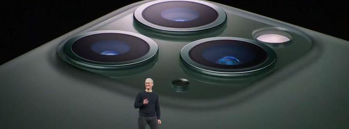L'iPhone 11 Pro et 11 Pro Max sont équipés de trois caméras sur le dos du smartphone.