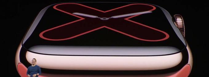 L'Apple Watch Series 5 est équipé d'un écran Retina qui reste constamment allumé.