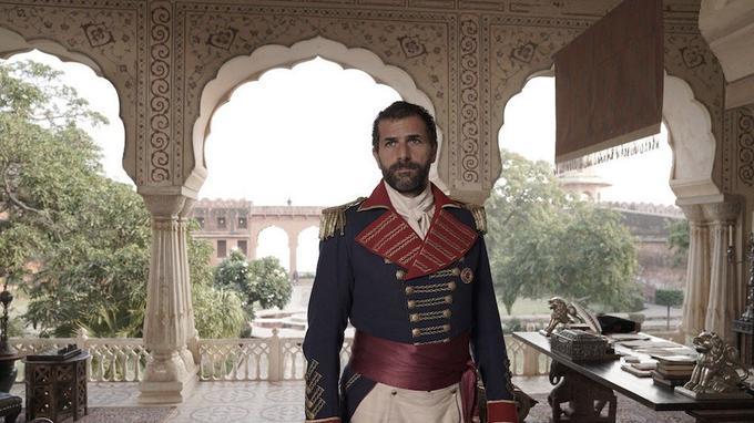 Grégory Fitoussi joue un général français en Inde au XIXe siècle dans  <i>Beecham House</i>. © ITV