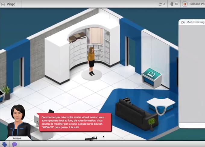 Au début du jeu DiVE, destiné aux adolescents diabétiques, ces derniers peuvent choisir leur apparence. Solar Game