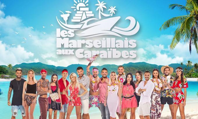 Les candidats des «Marseillais aux Caraïbes»
