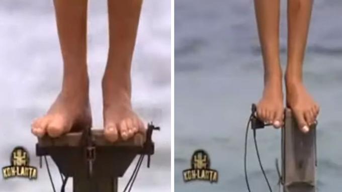 L'épreuve des poteaux en 2008 dans «Koh-Lanta»