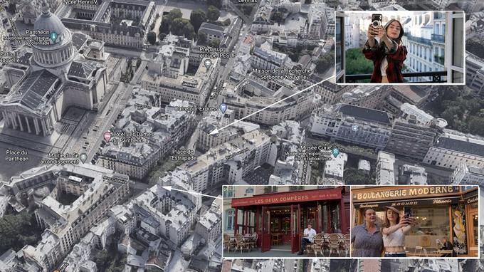 Le quartier d'Emily Cooper dans Emily in Paris, dans le Ve arrondissement