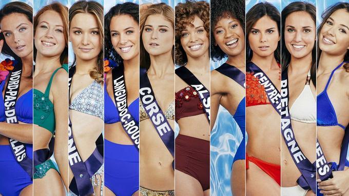 Les candidates pour Miss France 2021