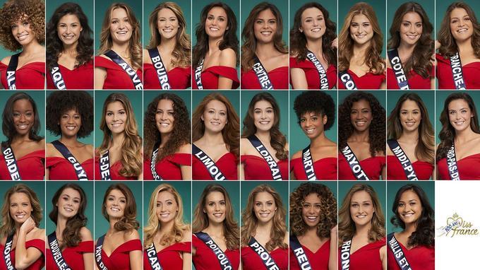Les 29 candidates pour le concours Miss France 2021