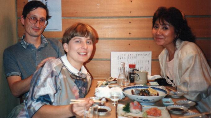 Yves Lecordier, Brigitte Lecordier et Masako Nozawa