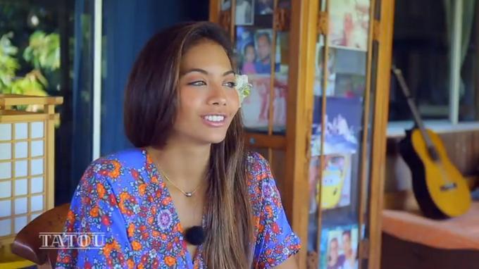 Miss France 2019 : Vaimalama Chaves De Retour à Tahiti