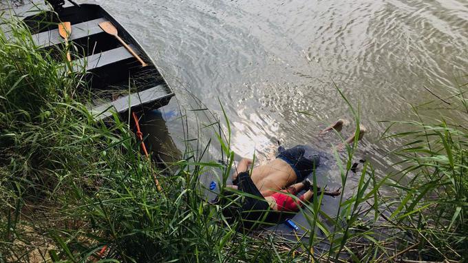 Comment a été prise la terrible photo d'un père et sa fille morts noyés dans le Rio Grande ? XVMbba7047c-9a46-11e9-b288-bcfdea1b7529