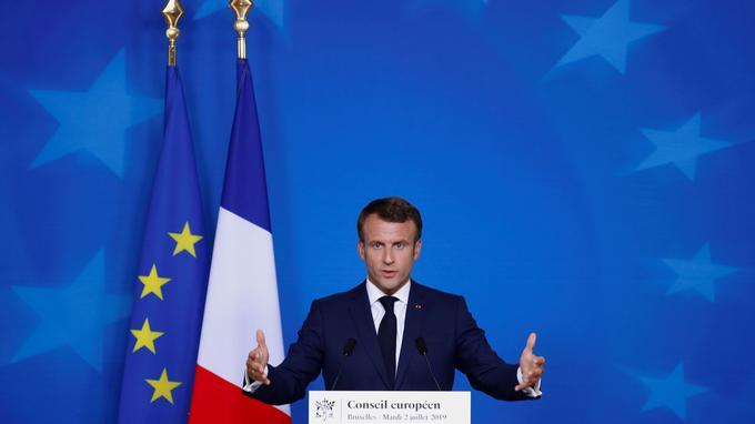 Guillaume Tabard : «UE, un bénéfice politique pour Macron» - Le Figaro