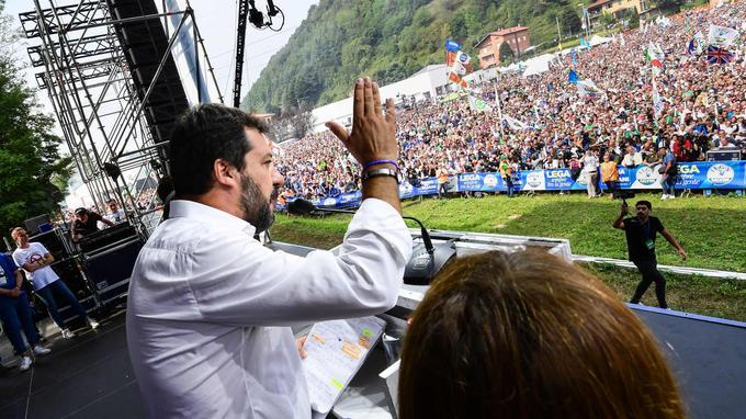 Salvini, Johnson: le paroxysme de la fracture démocratique