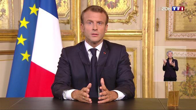 Mort de Jacques Chirac: retrouvez l'intégralité du discours d'Emmanuel Macron